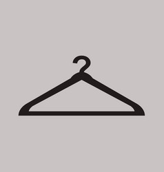 dress hanger icon vector image