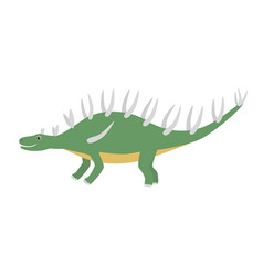 kentrosaurus icon cartoon of vector image