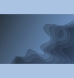 Landscape skyblue gradient fill abstract vector