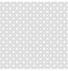 Seamless african adinkra pattern vector