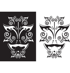 Tattoo mask vector