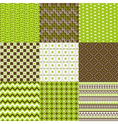 Textured backgrounds vector image