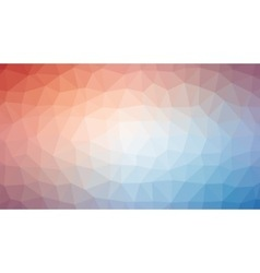 Red White Blue Polygonal Mosaic Background vector image