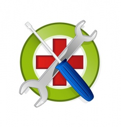 emblem template vector image
