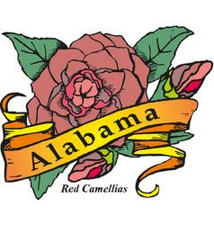 alabama vintage poster vector image