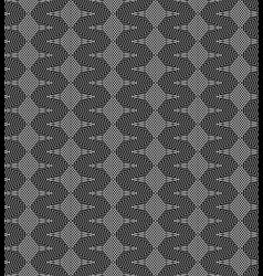 Monochrome psychodelic seamless pattern vector