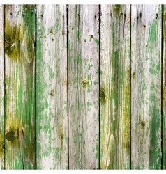 Painted Wooden Planks vector