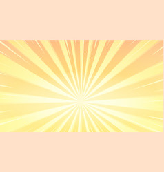 pop art background with sunbeams and halftone vector image