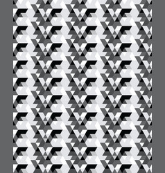 seamless template repeating pattern vector image