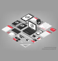 Stationary isometric set vector