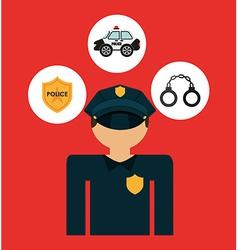 justice concepts vector image vector image