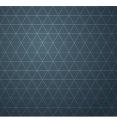 Abstract dark blue geometric seamless pattern vector image vector image