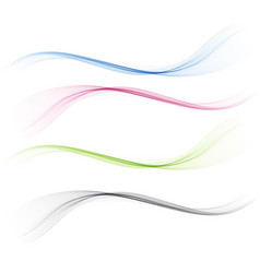 abstract bright border line divider vector image