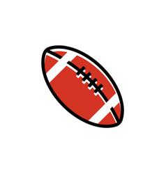 american football sport graphic design inspiration vector image