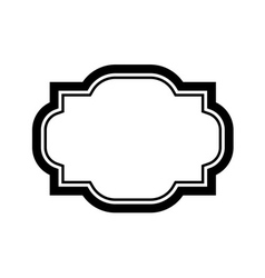 Black beautiful frame simple design vector