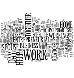 Essential boundaries for mom entrepreneurs and vector