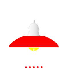 floor lamp it is icon vector image