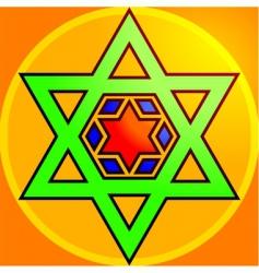 hindu symbol vector image