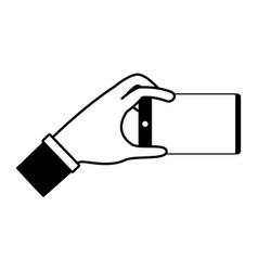 index finger hand vector image