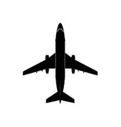 Modern passenger jet vector