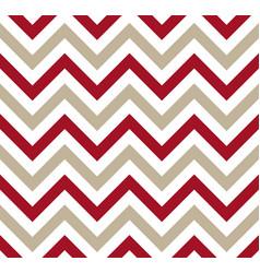 red and gray chevron retro decorative pattern vector image