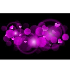 pink blur vector image vector image