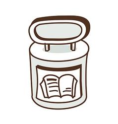 A bookstore vector