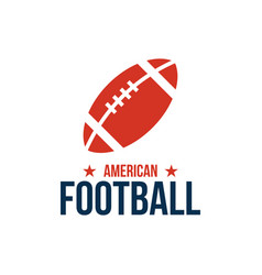 american football sport graphic design inspiration vector image
