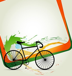 Cycle background vector