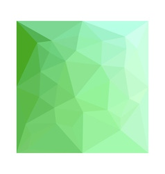 Dark Sea Green Abstract Low Polygon Background vector