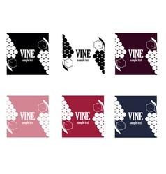 vine logo vector image