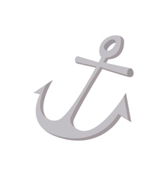 Anchor icon cartoon style vector image vector image