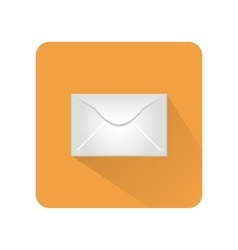 Icon messages in the form of an envelope vector image vector image