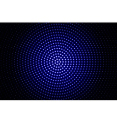 blue glowing techno background vector image vector image