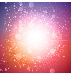 Starburst background vector