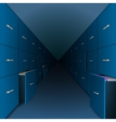 A large archive files vector