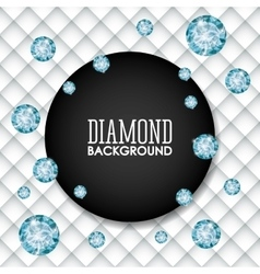 Diamond icon Elegant concept Gem design vector