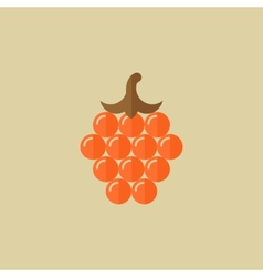 Grapes Food Flat Icon vector