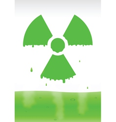radiation icon2 vector image