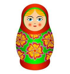 russian souvenir vector image