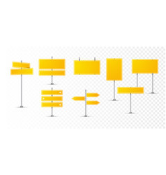 street road yellow sign icon warning vector image