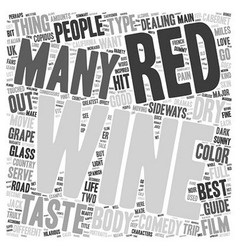 The Beauty Of Red Wine A Beginner s Guide text vector