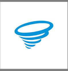tornado icon simple icon vector image
