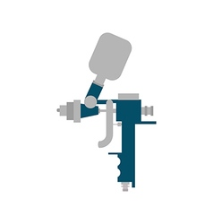 Airbrush vector image