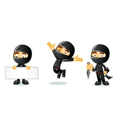 Ninja 1 vector image