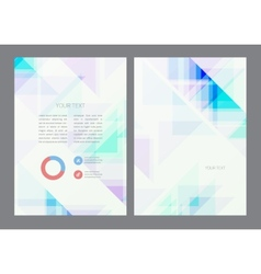Abstract artistic soft light shapes vector