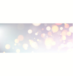 Abstract shiny blurred banner template for festive vector