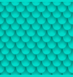 blue fish scales vector image