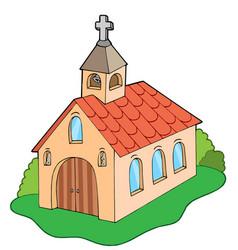 European style church vector