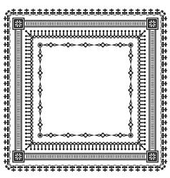 Frame set pattern vector
